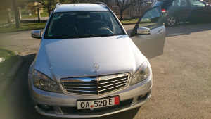 Mercedes c 220 cdi, 2008/09g. (Bi-xenon,Navigacija)
