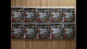 "PS3 igrice GTA V ORIGINAL ""25KM"""