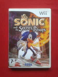 Nintendo Wii igra Sonic and the Secret Rings