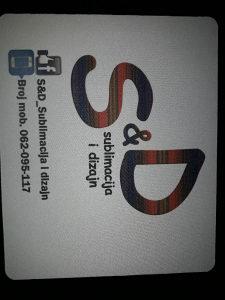 Podloga za miš - sublimacijska štampa slika ili logo