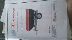 prodajem TINAZ PRIKOLICU MODEL TR01