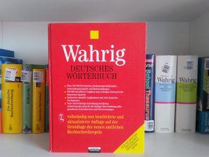 Deutsches Wörterbuch (veliki njemački rječnik) - Wahrig