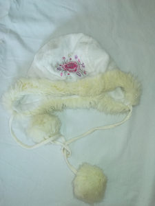 Zimska kapa za djevojčice