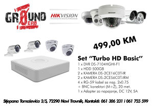 "HikVision Set ""Turbo HD Basic"""