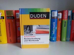 Duden - Rechtschreibung und Wortkunde