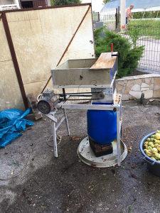 Masina za mljevenje jabuke
