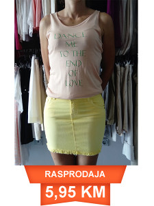 Suknja i majica DŽABALESKU
