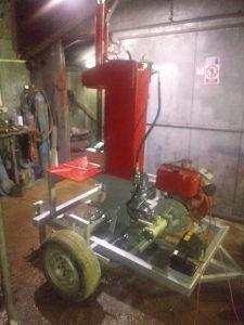 Hidraulicni cijepac za drva