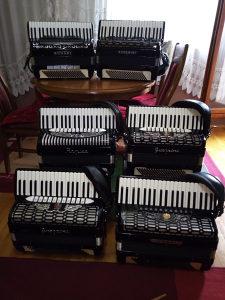 Harmonika Guerrini 6 komada