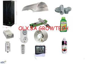 Grow Box Sator 60x60x150 za uzgoj biljaka sa opremom