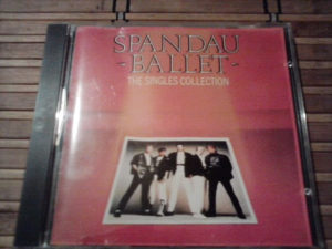 Spandau Ballet ‎– The Singles Collection cd