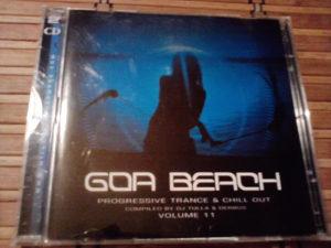 DJ Tulla & Der Bus – Goa Beach Volume 11. 2x cd