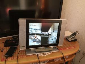 Lcd tv philips 15 incha orginal daljinski