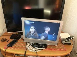 Lcd tv samsung 19 incha sa daljinskim