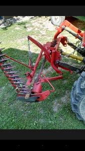 kosačica, kosilica  za traktor