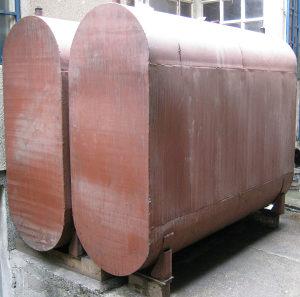 Cisterna za lož-ulje ili gorivo 2 komada