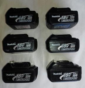 Makita baterije 18 i 14.4 V aku