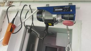 Einhell elektricna dizalica za drva