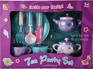 Set za čaj, posudje sudici sudovi za djevojcice NOVO