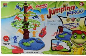 Igra žaba skakačica sa drvetom NOVO