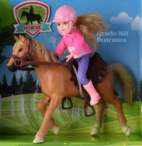 Konj sa lutkom konjić lutka NOVO!