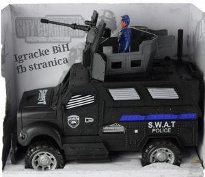Policijski set auto autić na baterije NOVO!