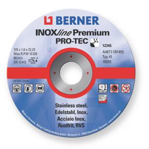 BERNER 243912 Rezna ploča INOX 125 x 1,0
