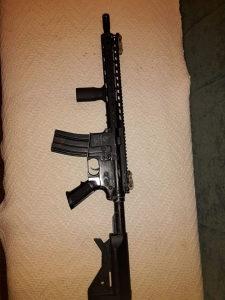 Colt M4 airsoft replika full metal+Noveske keymod rail