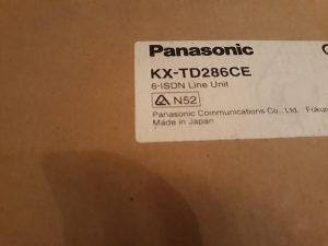 Panasonic kartica KX-TD286CE za telefonsku centralu
