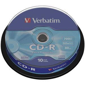 verbatim cd-novo full pakovanje 10 kom.