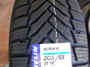 205 55 16 Michelin alpin A6 zimske gume m+s