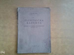 Knjiga ELEKTRIČNA RASVJETA
