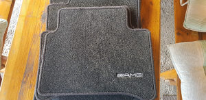 Podmetači / Patosnice za Mercedes CLS ORIGINAL AMG