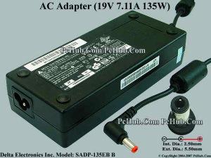 Delta Electronics AC Adapter 19v 7.11a Sadp-135eb B