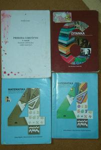 Knjige za 4 i 6 razred devetogodisnje skole
