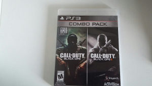 PS3 Call of Duty Black ops 1 i 2 combo pack