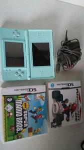 Nintendo DS Lite kao nov sa 2 hit igre