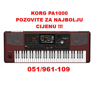 KORG PA1000 Profesionalni aranzer