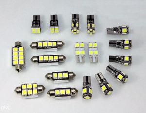 BMW F10 kompletan LED interijer set CANBUS
