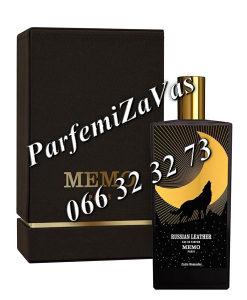 Memo Paris Russian Leather 75ml EDPTester ... U 75 ml