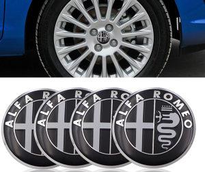 Alfa Romeo znakovi naljepnice / cepovi za felge 56mm