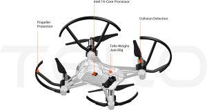 Dron Ryze Tech Tello powered by DJI