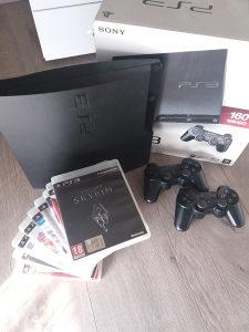PlayStation 3 PS3 slim + 12 igara(GTA5)