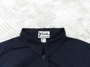Košulja crna klasična br.38 jednom nošena