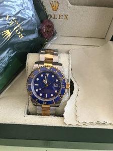 Rolex Submariner Bicolor Blue swiss replike