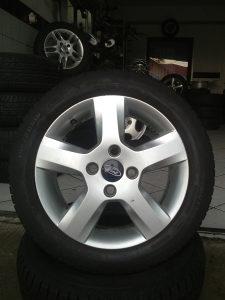 Alu felge 4x108 15 Ford + ljetne gume 195/50/R15