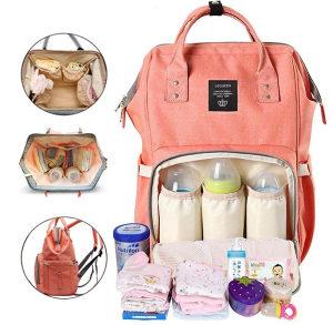 Multifunkcionalni ruksak LeQueen torba za mame / bebe