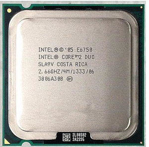 Intel® Core™2 Duo Processor E6750 2,66ghz 775