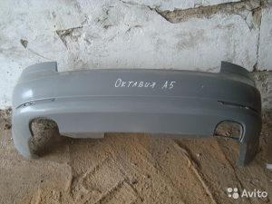 Zadnji branik za lakiranje skoda octavia 08-