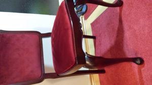 Stilske stolice puno dervo